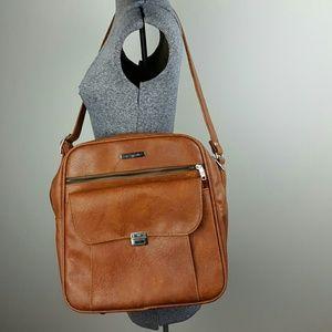Vintage Samsonite Brown Carry On Bag